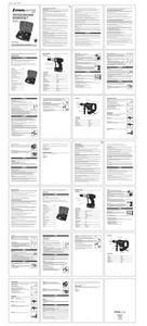 Mode d'emploi - Coffret perceuse-visseuse et marteau perforateur - STM0012