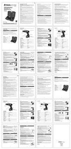 Mode d'emploi Coffret de perceuse-visseuse et perceuse - STM0013